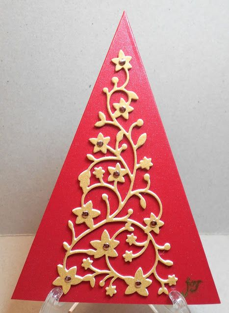 Cardmaker's Garret: Christmas Shapes at Happy Little Stampers