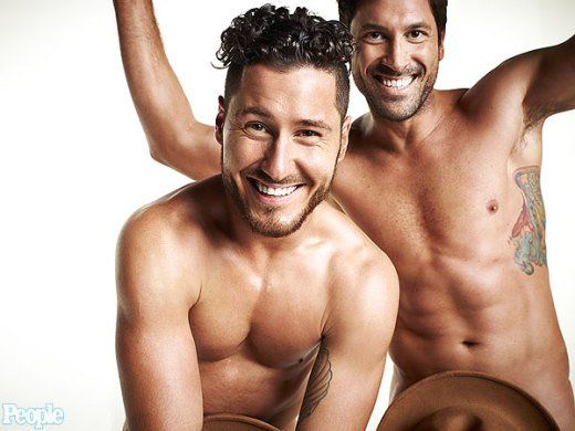 Maksim and Val Chmerkovskiy: Nude For People!