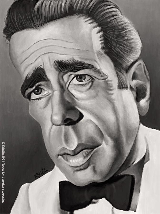 "Humphrey Bogart es Rick Blaine en ""Casablanca"""