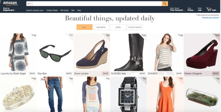 Amazon Tests A New Feature Called Stream, A Photo-Filled Product Feed Updated Daily   TechCrunch