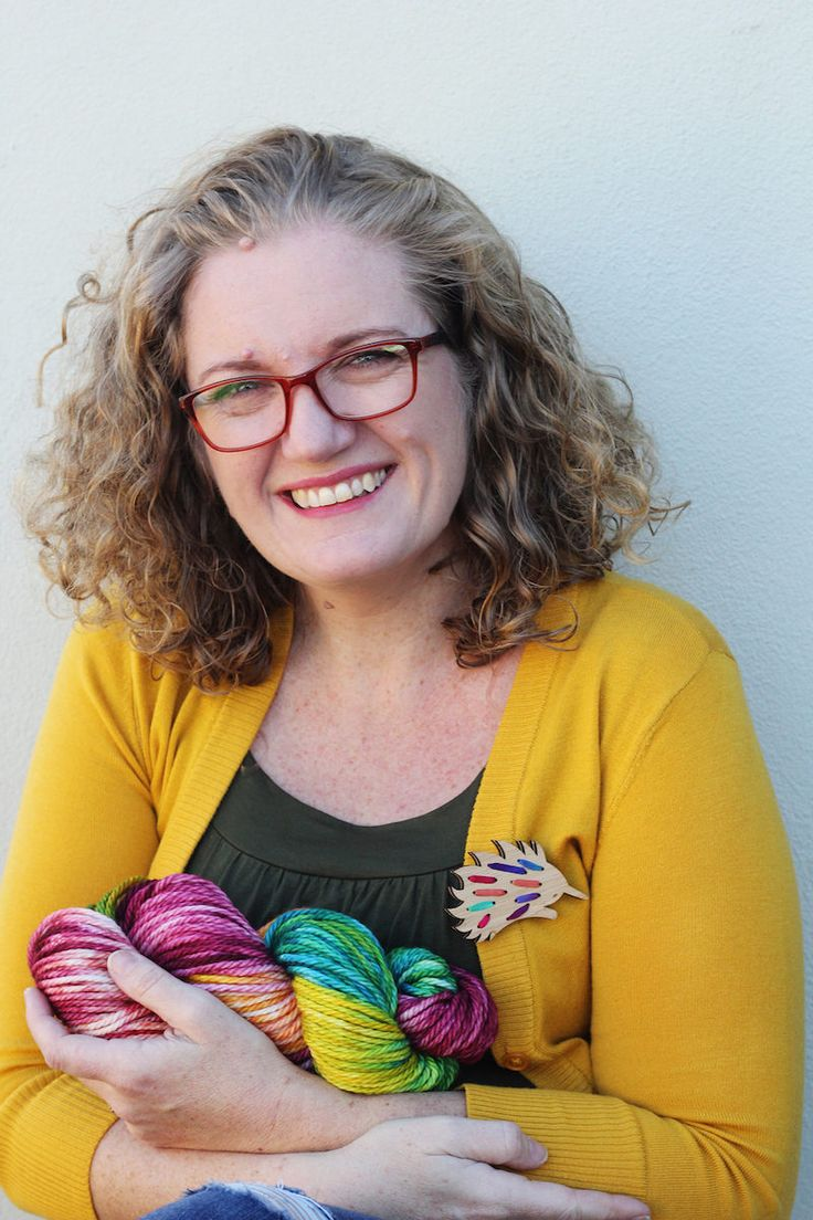 This former law professor shares her passion for making with the world through her vibrant hand-dyed yarn and easy-to-follow embroidery kits.
