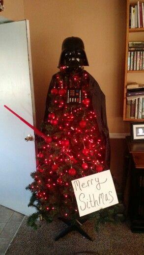 Starwars christmas tree