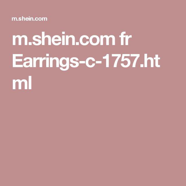 m.shein.com fr Earrings-c-1757.html
