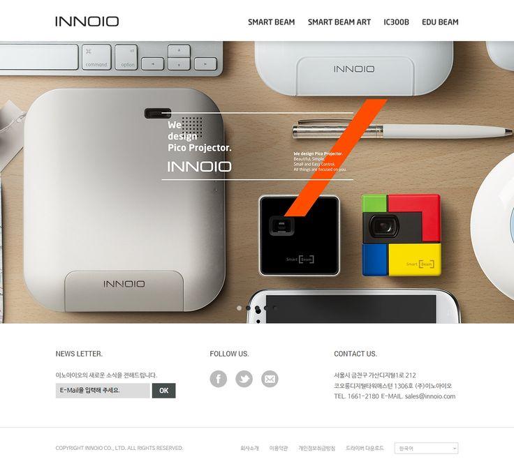DCafeIn Website - INNOIO