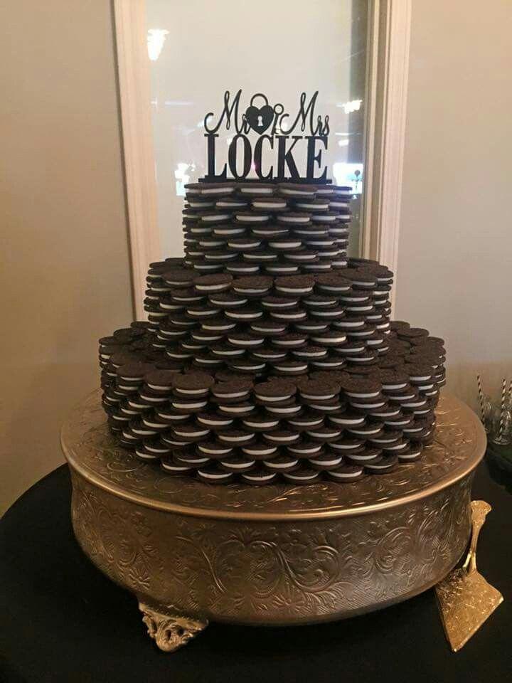 Best 25 Oreo Wedding Cake Ideas On Pinterest Black