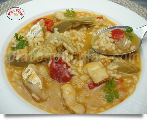 Saca la cuchara para disfrutar de un arroz caldoso con bacalao