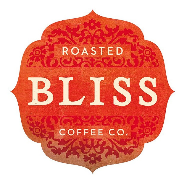 roasted bliss coffee co. logo by simon walker.