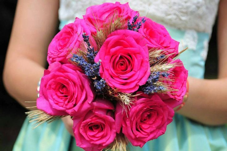 Colorful Bridal bouquet- made by Irina's Flower House