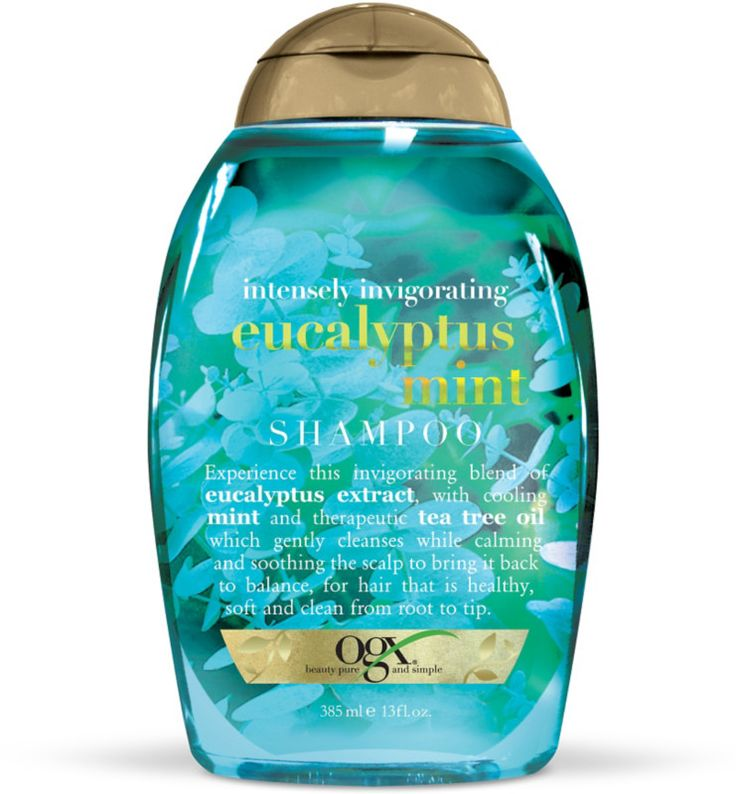 OGX Intensely Invigorating Eucalyptus Mint Shampoo Ulta.com - Cosmetics, Fragrance, Salon and Beauty Gifts