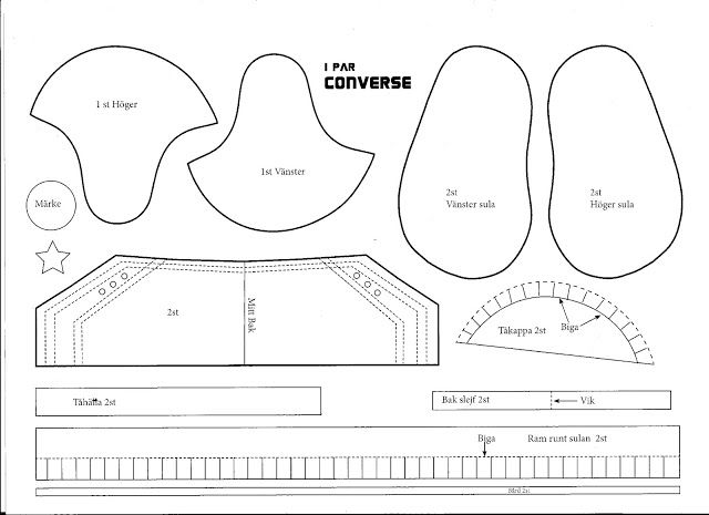 Carinaspysselsida: Converse