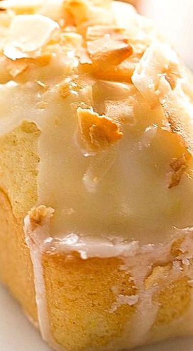 Mini Lemon Coconut Loaf Cakes ❊