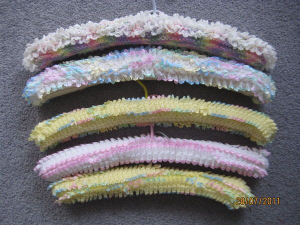 Lace Knitted Coathangers