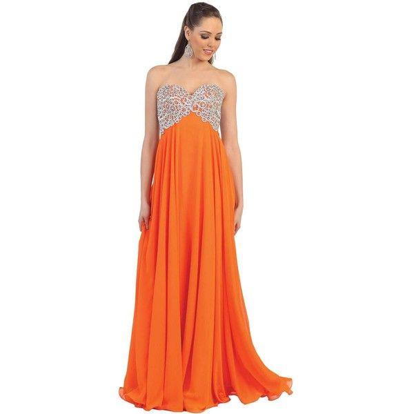 78 Best ideas about Orange Cocktail Dresses on Pinterest  Icra ...