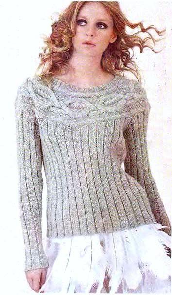 """suéteres de punto con patrón de """"Spit"""""""