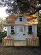 Children's Wooden Playhouses & Forts | Leonard Buildings & Truck Accessories