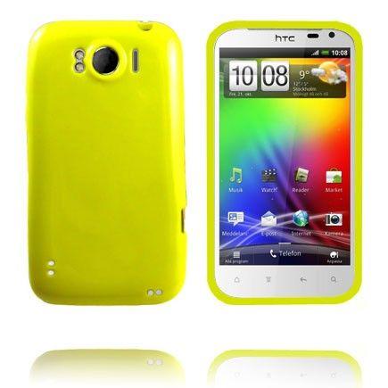 Candy Colors (Gul) HTC Sensation XL Cover