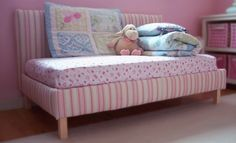 Ana White | Toddler Upholstered Bed - DIY Projects