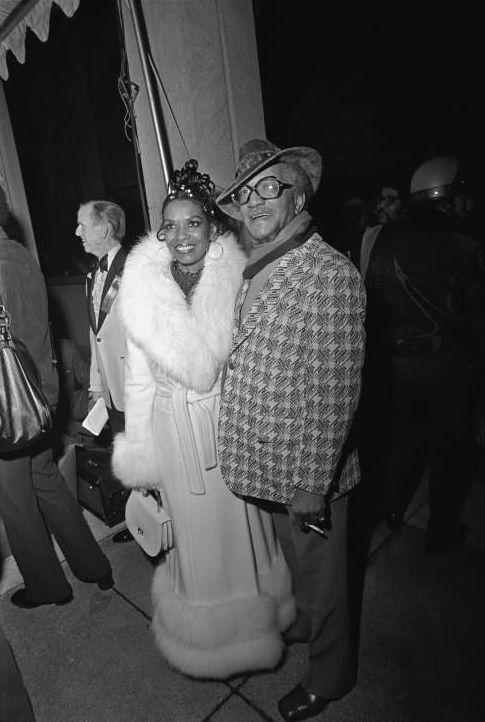 Redd Foxx & wife Betty Jean Harris Foxx | Vintage Black ...