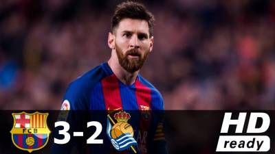 Barcelona vs Real Sociedad 3-2 – All Goals & Extended Highlights – La Liga 15/04/2017 HD -  Click link to view & comment:  http://www.naijavideonet.com/video/barcelona-vs-real-sociedad-3-2-all-goals-extended-highlights-la-liga-15042017-hd-2/