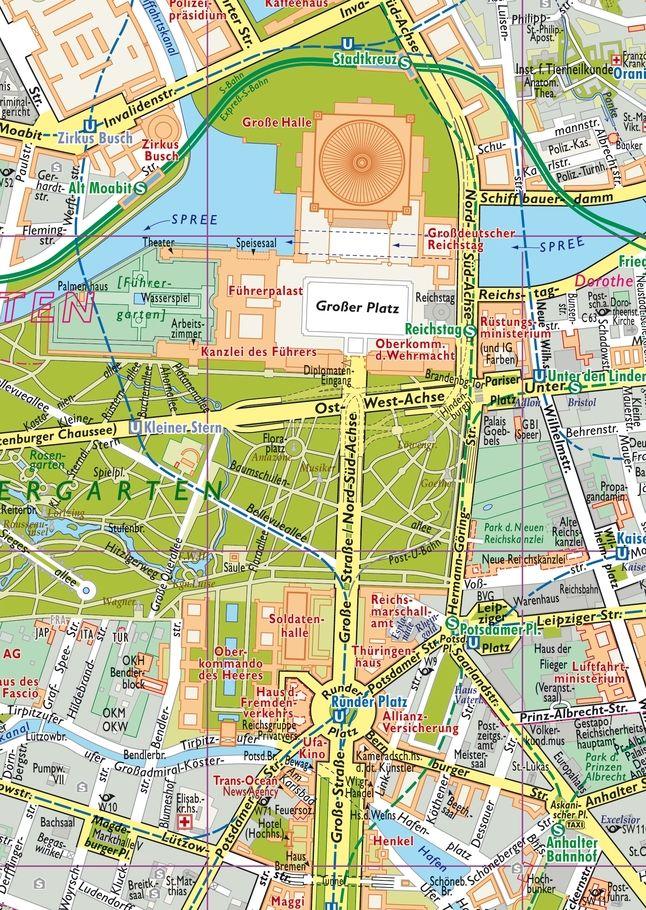 1938 Grossenwahn So Stellten Sich Hitlers Stadtplaner Die