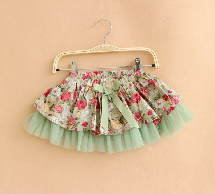 Aliexpress.com : Buy Girls Fashion Rose Flower Skirts Kids Princess Pastoral Style Ball Gown Children Layered Tutu Skirt Summer Clothing Free Ship from Reliable skirt long suppliers on Treehouse