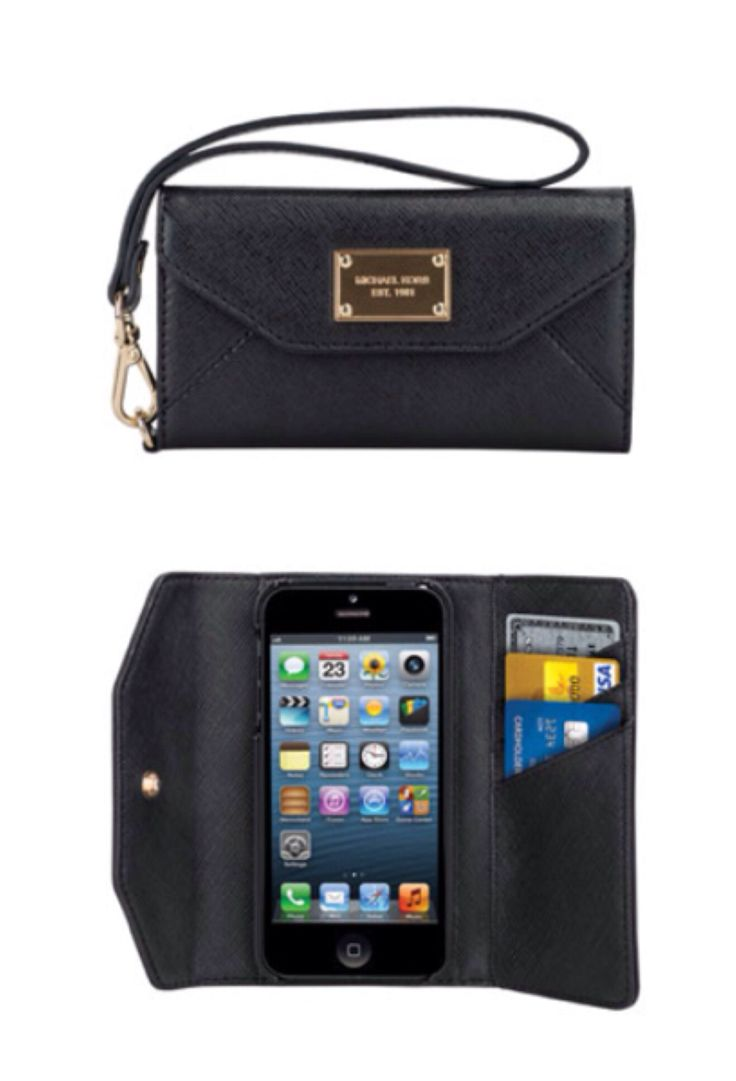michael kors iphone 5 clutch i want this for my birthday. Black Bedroom Furniture Sets. Home Design Ideas