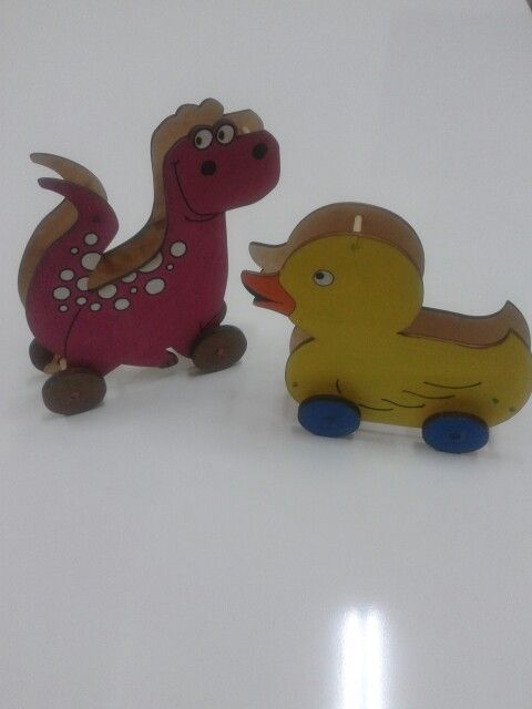 Ahsap dino ve vakvak oyuncaklarimiz  wood toys