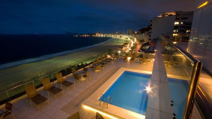 Arena Copacabana Hotel in Rio de Janeiro | Splendia - http://pinterest.com/splendia/
