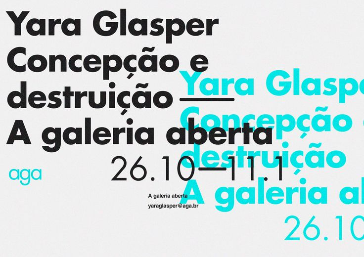 """AGA - A Galeria Aberta, meaning """"the open gallery"""", is the concept of an art gallery based on emerging artists that are looking for places to showcase their work. With the lack of accessible galleries to new artists, the idea of a itinerant and multiple o…"""