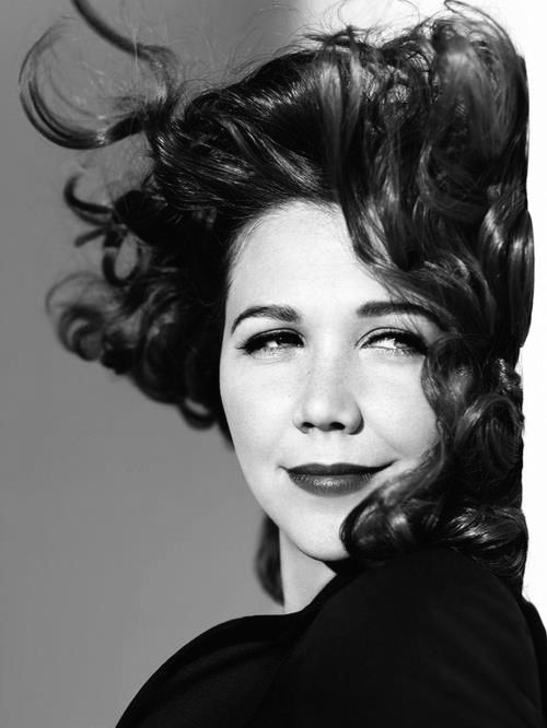 Maggie Gyllenhaal - Brilliant actress...very powerful and very smart