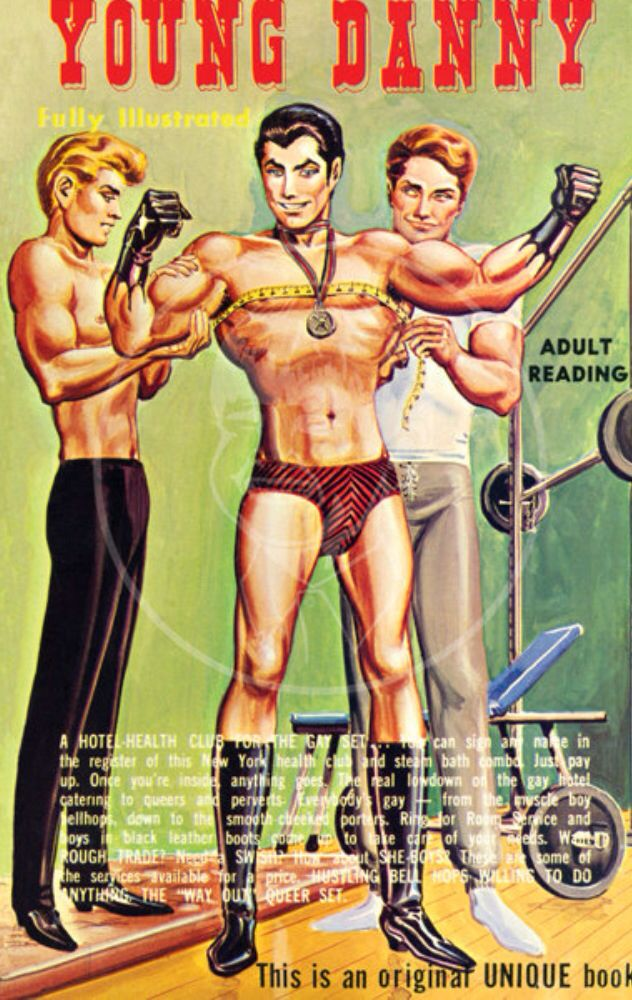 from Cristopher vintage gay book magazine covers
