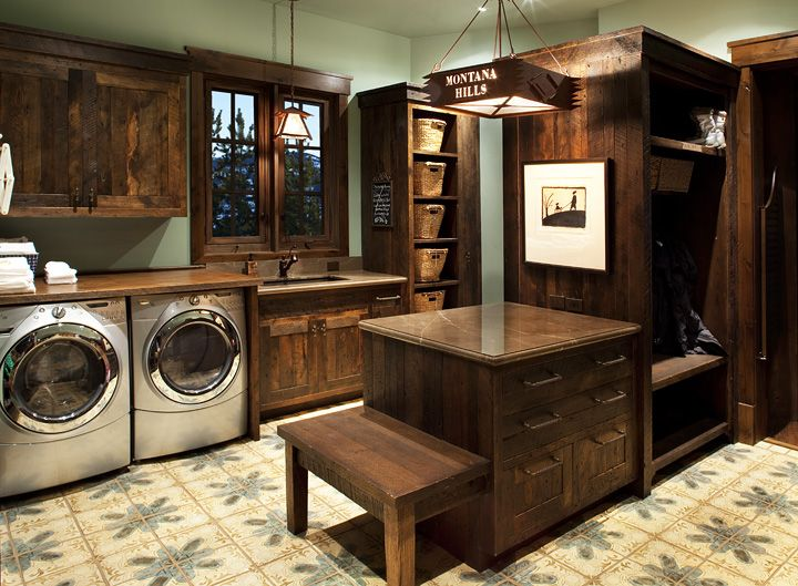 80 best Cabin laundry & mud room ideas images on Pinterest ...