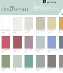 CHALK PAINT - La Pajarita