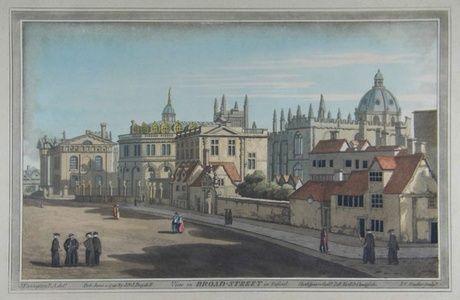 View in Broad Street in Oxford | Sanders of Oxford