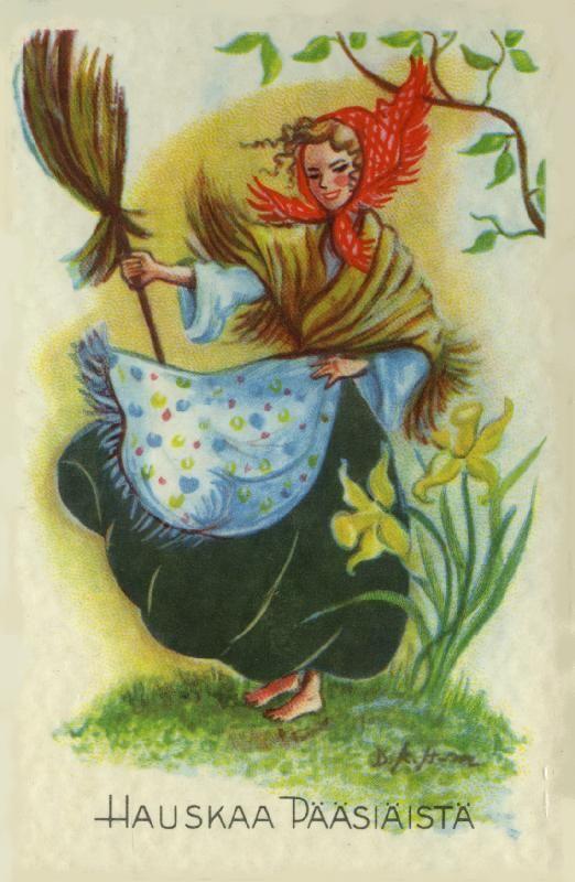 Hauskaa Pääsiäistä! #pääsiäinen #eastern #noidat