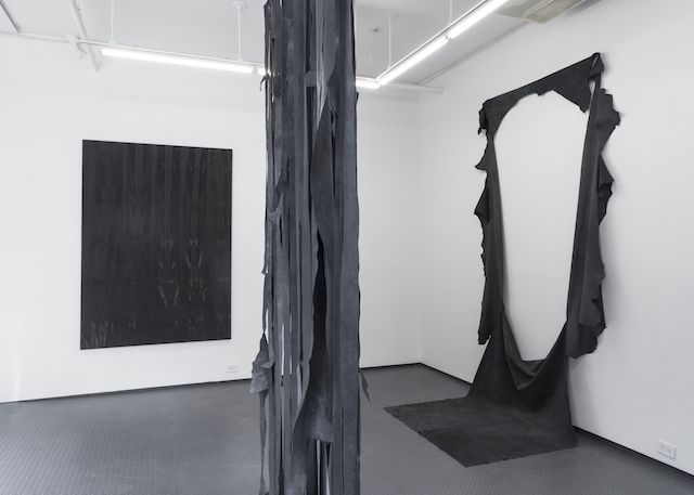 Leftover Cowhide Becomes Abstract Art in the Hands of Anneliese Schrenk | The Creators Project