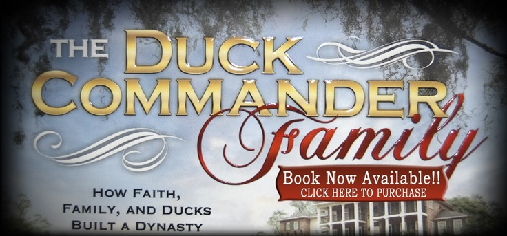 Need to buy a duck call?  Or a buck call?  Check out www.duckcommander.com