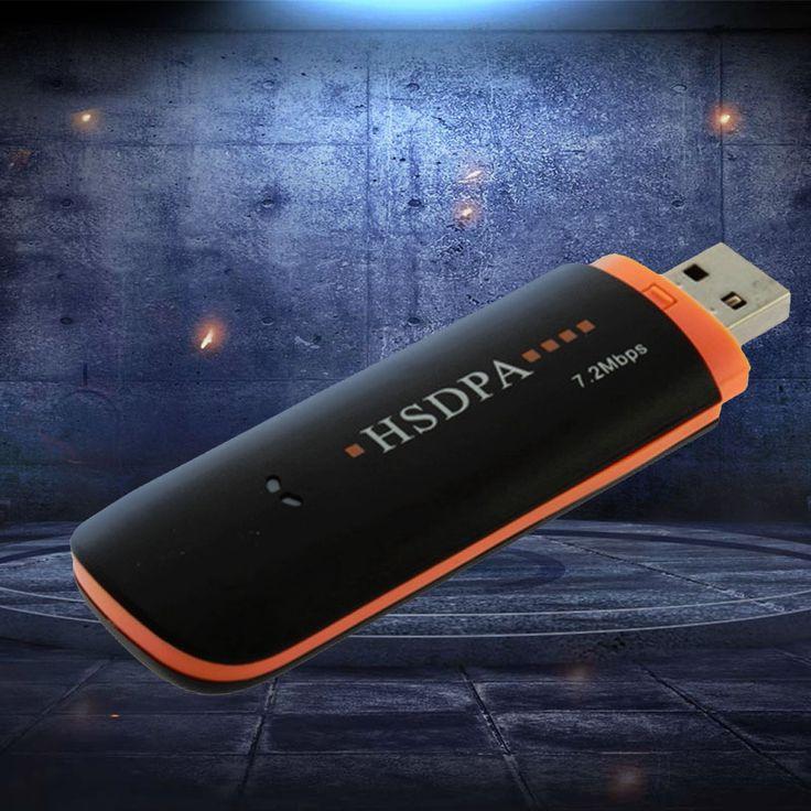 1 Pcs Wireless USB2.0 3G HSDPA For EDGE 7.2Mbps Network Modem Adapter Tools Accessories #Affiliate