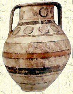 Amphore Phénicienne  - VIe siècle