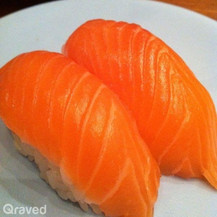 Salmon Sushi at Sushi Tei Plaza Indonesia