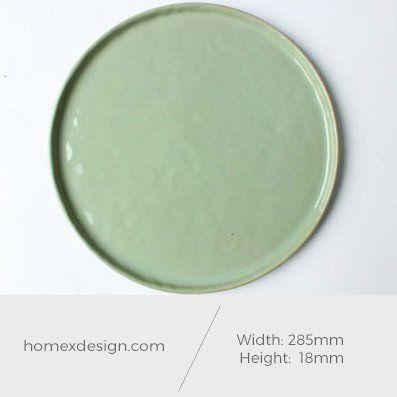 Ceramic XL plates (set of 5)