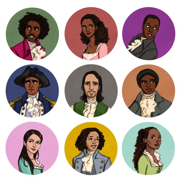 """RAISE A GLASS"" to the amazing cast of Hamilton the musical #fanart #Hamiltunes"