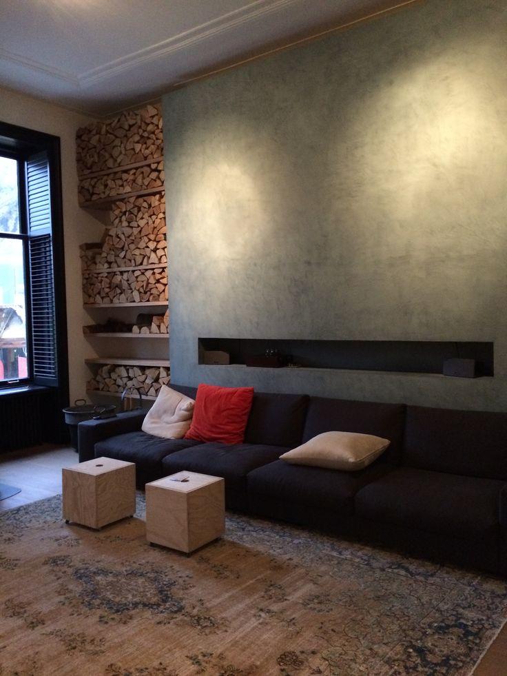Studio ei interieurontwerp villa haarlem meubelontwerpen zitkamer speelkamer eetkamer - Meubels studio keuken ...