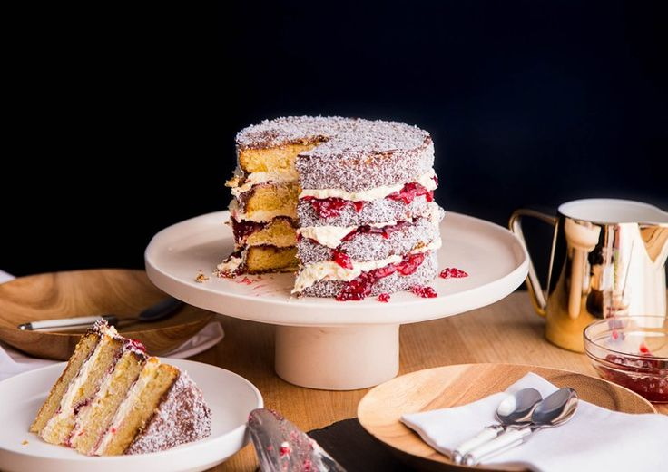 Sweet Magazine - Lamington Cake