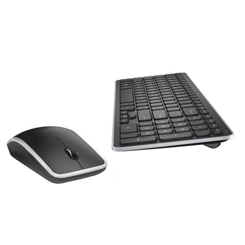 "Dell Wireless Keyboard/Mouse Combo Model # KM714. If you like the Apple ""chiclet"" type keyboard but have a PC then this keyboard is for you. It is quiet and has the same chiclet style keys."