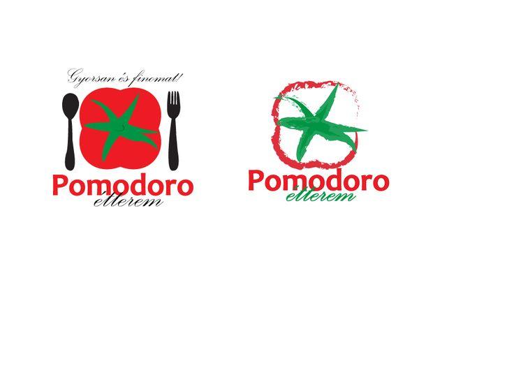 olasz étterem logóterv/ italian restaurant's logo concept