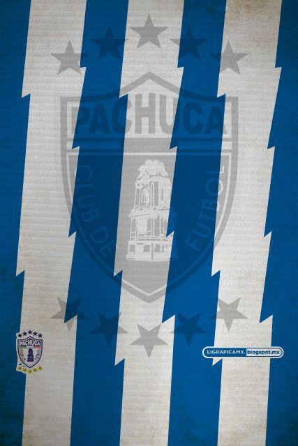 #iPhone4 #Wallpaper #LigraficaMX #DiseñoyFútbol • #Pachuca #Tuzos