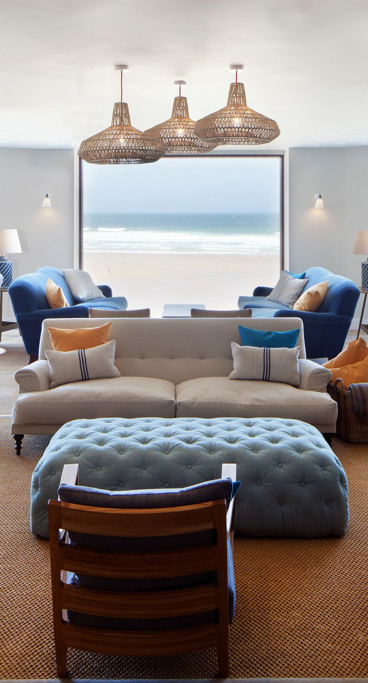Ocean room at Watergate Bay Hotel
