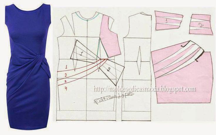 Moldes Moda por Medida: TRANSFORMAÇÃO DE VESTIDOS-6