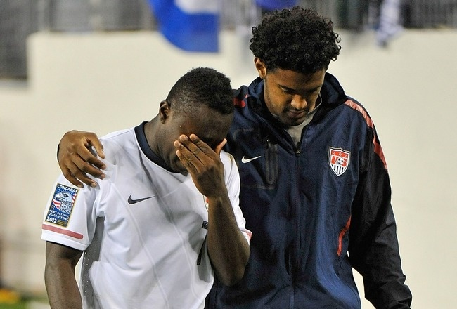 March 27, 2012    USA vs El Salvador: Epic Fail Costs US Men's Soccer Team Chance at Olympics http://bleacherreport.com/articles/1120798-usa-vs-el-salvador-epic-fail-costs-us-mens-soccer-team-chance-at-olympics?utm_source=newsletter_medium=newsletter_campaign=olympics